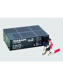 Mascot 2043 48V/2.5A 3-Step Switch Mode SLA Battery Charger with timer, fixed EU mains lead