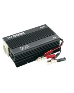 Mascot 2285 300W 24V DC to 230V AC Inverter with EU Socket/Terminal Blocks and Pure sine wave output