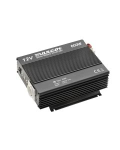 Mascot 2286 600W 24V DC to 230V AC Inverter with EU Socket/Terminal Blocks and Pure sine wave output