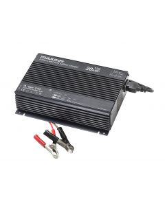 Mascot 2745 24V/10A 3-Step Switch Mode SLA Battery Charger with Microprocessor, fixed EU mains lead