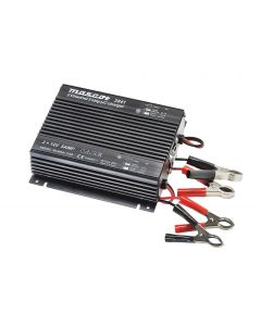 Mascot 2841 12V/2X5A Dual Output 3-Step Switch Mode SLA Battery Charger, fixed EU mains lead