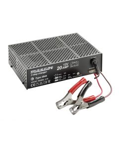 Mascot 2944 24V/10A 3-Step Switch Mode SLA Battery Charger with Microprocessor, fixed EU mains lead