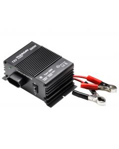 Mascot 2985 300W 24V DC to 230V AC Inverter with EU Socket/Battery Clips and modified sine wave output