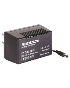 Mascot 8613 9V DC, 4.5W AC/DC Linear power supply