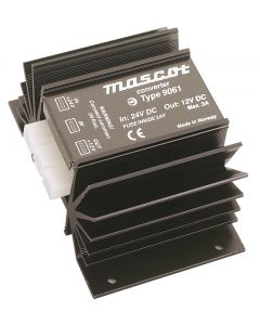 Mascot 9061 27W 12V/5V Linear DC/DC Converter with regulated output