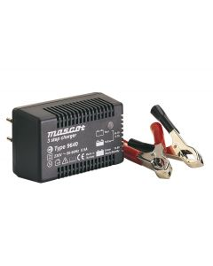 Mascot 9640 24V/1.5A 3-Step Switch Mode SLA Battery Charger with timer, fixed EU plug