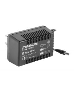 Mascot 9641 24V/1.5A 3-Step Switch Mode SLA Battery Charger with timer, fixed EU plug