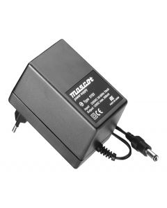 Mascot 9783 12V DC, 6W AC/DC Linear plug-in power supply with UK Plug