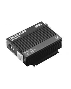 Mascot 9986 600W 24V DC to 230V AC Inverter with EU Socket/Terminal Blocks and modified sine wave output