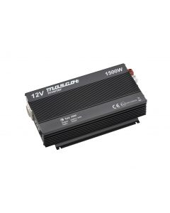Mascot 9988 1500W 24V DC to 230V AC Inverter with EU Socket /Terminal Blocks and modified sine wave output