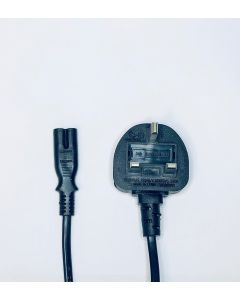 2-Pin IEC Mains Lead UK