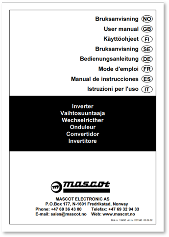 Inverters User manual