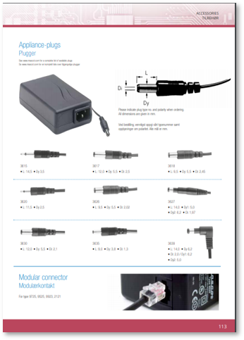 Moulded Connector Data Sheet